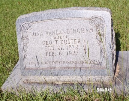 DOSTER, LONA - Bradley County, Arkansas | LONA DOSTER - Arkansas Gravestone Photos