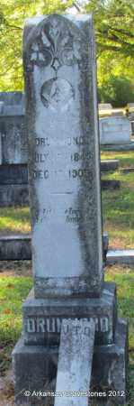 DRUMMOND (VETERAN CSA), J T - Bradley County, Arkansas | J T DRUMMOND (VETERAN CSA) - Arkansas Gravestone Photos