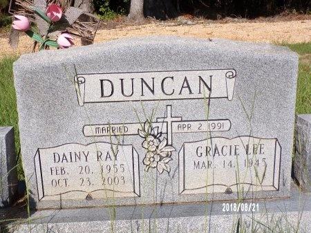 DUNCAN, DAINY RAY - Bradley County, Arkansas | DAINY RAY DUNCAN - Arkansas Gravestone Photos