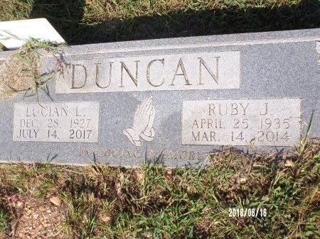 DUNCAN, RUBY JEANETTE - Bradley County, Arkansas | RUBY JEANETTE DUNCAN - Arkansas Gravestone Photos