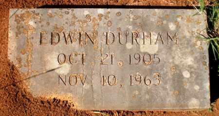 DURHAM, EWIN - Bradley County, Arkansas   EWIN DURHAM - Arkansas Gravestone Photos