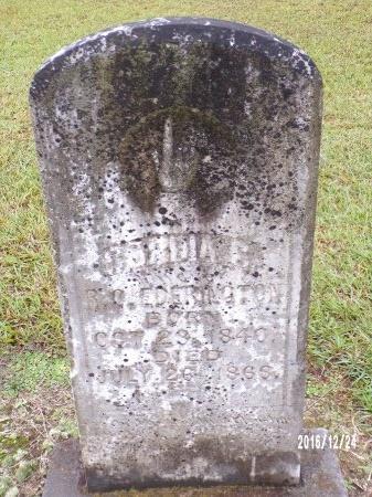 EDERINGTON, CORDIA CAROLINE - Bradley County, Arkansas | CORDIA CAROLINE EDERINGTON - Arkansas Gravestone Photos