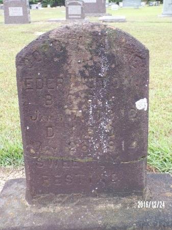 EDERINGTON, CORDIA ANNE - Bradley County, Arkansas | CORDIA ANNE EDERINGTON - Arkansas Gravestone Photos