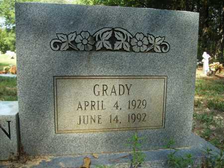 EDERINGTON, GRADY (CLOSE UP) - Bradley County, Arkansas   GRADY (CLOSE UP) EDERINGTON - Arkansas Gravestone Photos