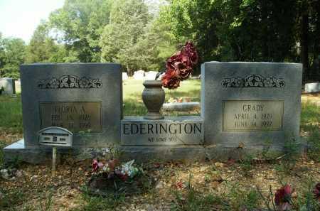 EDERINGTON, GRADY - Bradley County, Arkansas | GRADY EDERINGTON - Arkansas Gravestone Photos