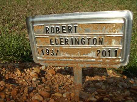 EDERINGTON, ROBERT - Bradley County, Arkansas   ROBERT EDERINGTON - Arkansas Gravestone Photos