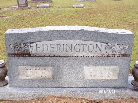 EDERINGTON, WILLIAM WHEELER - Bradley County, Arkansas | WILLIAM WHEELER EDERINGTON - Arkansas Gravestone Photos