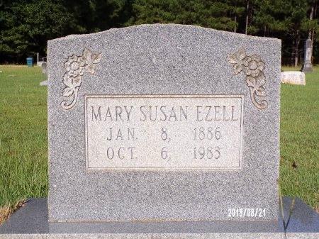 EZELL, MARY SUSAN - Bradley County, Arkansas | MARY SUSAN EZELL - Arkansas Gravestone Photos