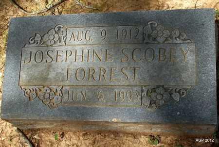 FORREST, JOSEPHINE - Bradley County, Arkansas | JOSEPHINE FORREST - Arkansas Gravestone Photos