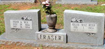 REEP FRASER, OLLIE MAE - Bradley County, Arkansas | OLLIE MAE REEP FRASER - Arkansas Gravestone Photos