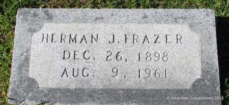 FRAZER, HERMAN J - Bradley County, Arkansas   HERMAN J FRAZER - Arkansas Gravestone Photos