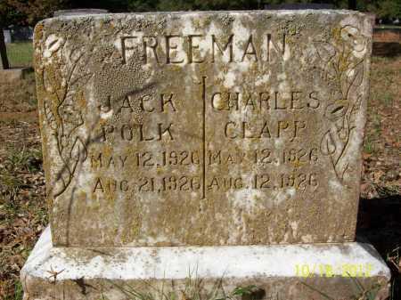 FREEMAN, CHARLES CLAPP - Bradley County, Arkansas | CHARLES CLAPP FREEMAN - Arkansas Gravestone Photos