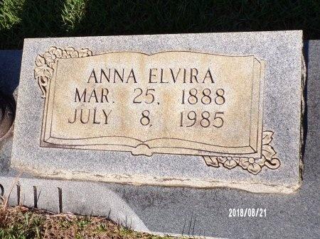 GAMBILL, ANNA ELVIRA (CLOSE UP) - Bradley County, Arkansas   ANNA ELVIRA (CLOSE UP) GAMBILL - Arkansas Gravestone Photos