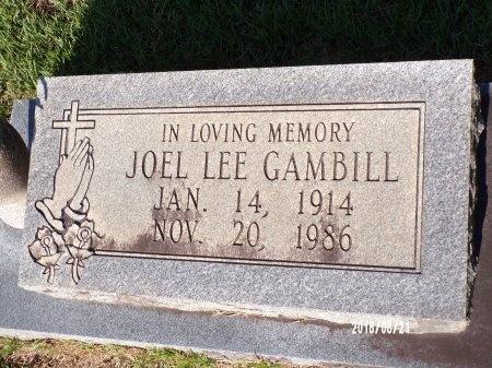 GAMBILL, JOEL LEE - Bradley County, Arkansas | JOEL LEE GAMBILL - Arkansas Gravestone Photos