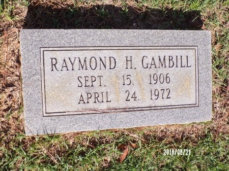 GAMBILL, RAYMOND HAROLD - Bradley County, Arkansas | RAYMOND HAROLD GAMBILL - Arkansas Gravestone Photos