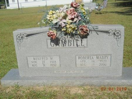 GAMBILL, ROBERTA - Bradley County, Arkansas   ROBERTA GAMBILL - Arkansas Gravestone Photos