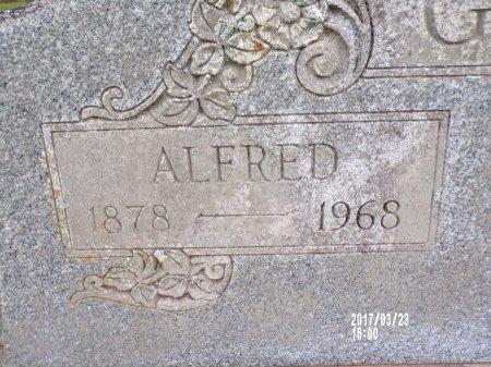 GARRISON, ALFRED (CLOSE UP) - Bradley County, Arkansas   ALFRED (CLOSE UP) GARRISON - Arkansas Gravestone Photos