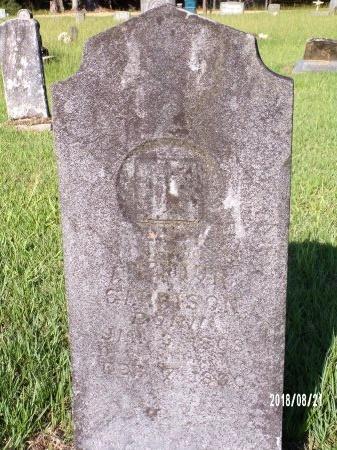 GARRISON, ARTHUR - Bradley County, Arkansas | ARTHUR GARRISON - Arkansas Gravestone Photos