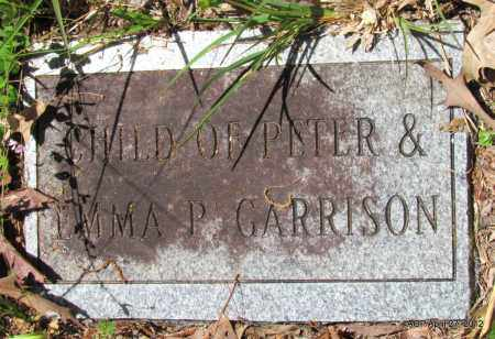 GARRISON, CHILD - Bradley County, Arkansas | CHILD GARRISON - Arkansas Gravestone Photos