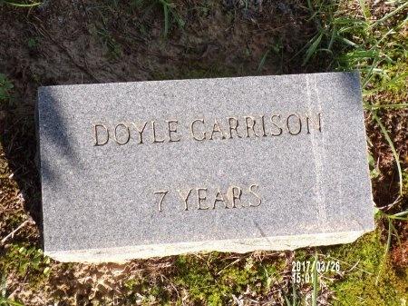 GARRISON, DOYLE - Bradley County, Arkansas   DOYLE GARRISON - Arkansas Gravestone Photos