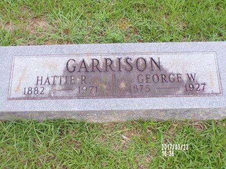GARRISON, HATTIE R - Bradley County, Arkansas   HATTIE R GARRISON - Arkansas Gravestone Photos