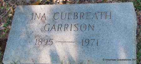 GARRISON, INA - Bradley County, Arkansas | INA GARRISON - Arkansas Gravestone Photos