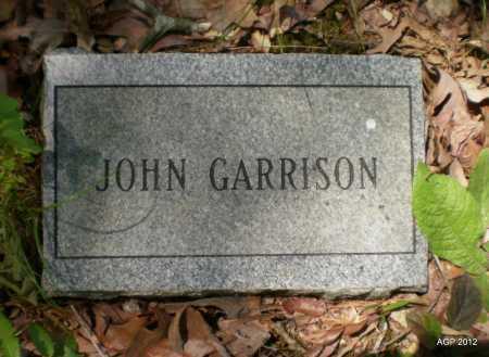 GARRISON, JOHN - Bradley County, Arkansas   JOHN GARRISON - Arkansas Gravestone Photos