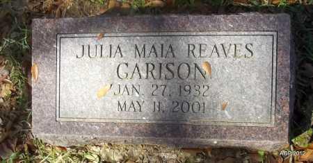 GARRISON, JULIA MAIA - Bradley County, Arkansas   JULIA MAIA GARRISON - Arkansas Gravestone Photos