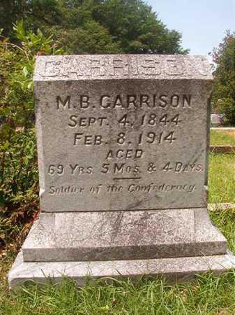 GARRISON, M B - Bradley County, Arkansas | M B GARRISON - Arkansas Gravestone Photos