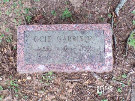GARRISON, OCIE - Bradley County, Arkansas | OCIE GARRISON - Arkansas Gravestone Photos