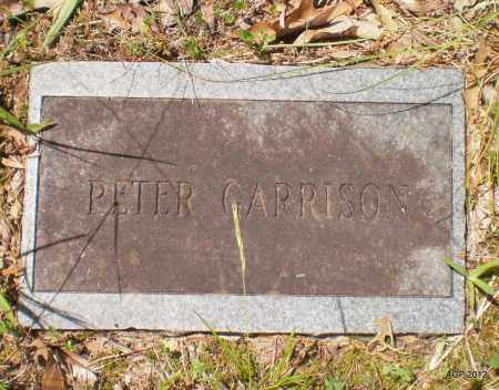 GARRISON, PETER - Bradley County, Arkansas | PETER GARRISON - Arkansas Gravestone Photos