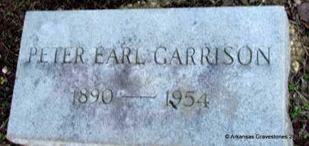 GARRISON, PETER EARL - Bradley County, Arkansas   PETER EARL GARRISON - Arkansas Gravestone Photos