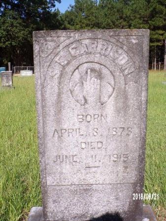 GARRISON, SUSAN E (CLOSE UP) - Bradley County, Arkansas   SUSAN E (CLOSE UP) GARRISON - Arkansas Gravestone Photos