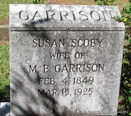 GARRISON, SUSAN - Bradley County, Arkansas   SUSAN GARRISON - Arkansas Gravestone Photos