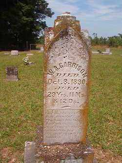 GARRISON, W A - Bradley County, Arkansas | W A GARRISON - Arkansas Gravestone Photos