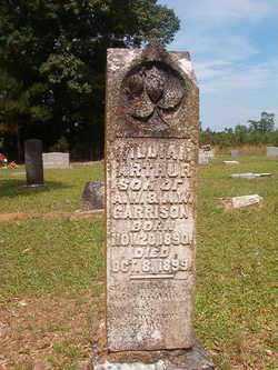 GARRISON, WILLIAM ARTHUR - Bradley County, Arkansas | WILLIAM ARTHUR GARRISON - Arkansas Gravestone Photos