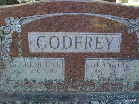 GODFREY, JEANETTE C - Bradley County, Arkansas | JEANETTE C GODFREY - Arkansas Gravestone Photos
