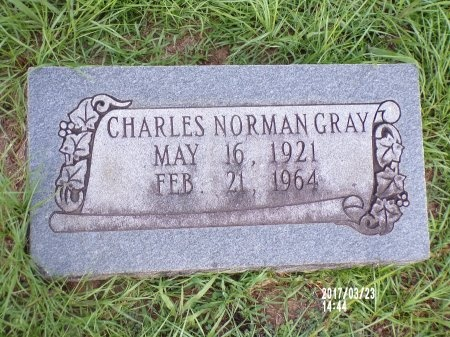 GRAY, CHARLES NORMAN - Bradley County, Arkansas | CHARLES NORMAN GRAY - Arkansas Gravestone Photos