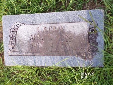 GRAY, CHARLES B - Bradley County, Arkansas | CHARLES B GRAY - Arkansas Gravestone Photos