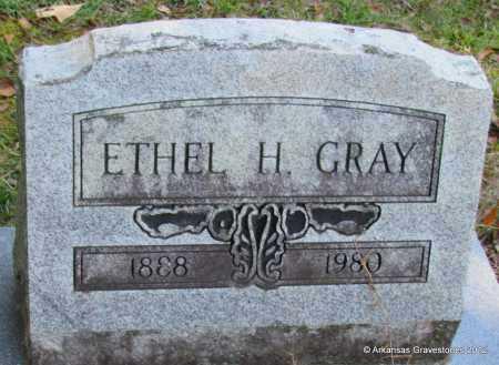 GRAY, ETHEL H - Bradley County, Arkansas | ETHEL H GRAY - Arkansas Gravestone Photos