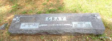 GRAY, JANE C - Bradley County, Arkansas | JANE C GRAY - Arkansas Gravestone Photos