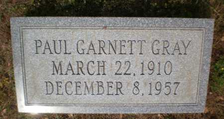 GRAY, PAUL GARNETT - Bradley County, Arkansas | PAUL GARNETT GRAY - Arkansas Gravestone Photos