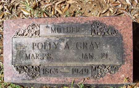 GRAY, POLLY A - Bradley County, Arkansas | POLLY A GRAY - Arkansas Gravestone Photos