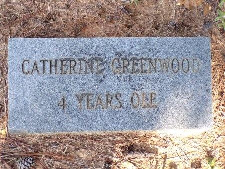 GREENWOOD, CATHERINE - Bradley County, Arkansas | CATHERINE GREENWOOD - Arkansas Gravestone Photos
