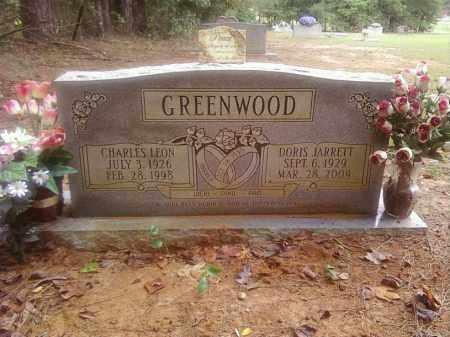 JARRETT GREENWOOD, DORIS - Bradley County, Arkansas | DORIS JARRETT GREENWOOD - Arkansas Gravestone Photos