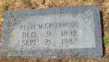 GREENWOOD, PEARL M - Bradley County, Arkansas | PEARL M GREENWOOD - Arkansas Gravestone Photos