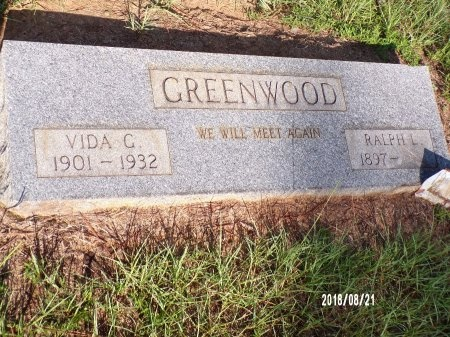 GROVES GREENWOOD, VIDA - Bradley County, Arkansas | VIDA GROVES GREENWOOD - Arkansas Gravestone Photos