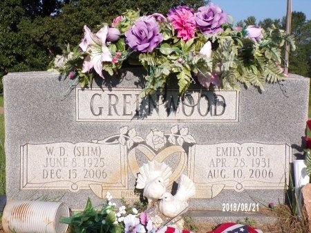 JENKINS GREENWOOD, EMILY SUE - Bradley County, Arkansas | EMILY SUE JENKINS GREENWOOD - Arkansas Gravestone Photos