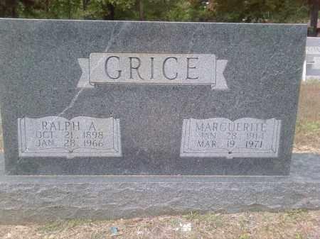 GRICE, MARGUERITE - Bradley County, Arkansas | MARGUERITE GRICE - Arkansas Gravestone Photos