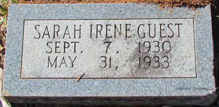 GUEST, SARAH IRENE - Bradley County, Arkansas | SARAH IRENE GUEST - Arkansas Gravestone Photos